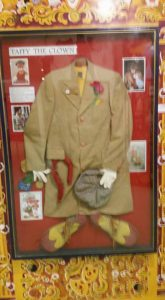 Taffy the Clown's costume exhibit